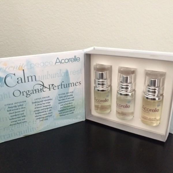 Calm Organic perfume trio