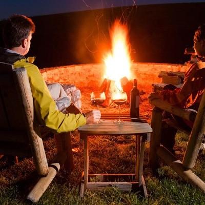 Posh camping?