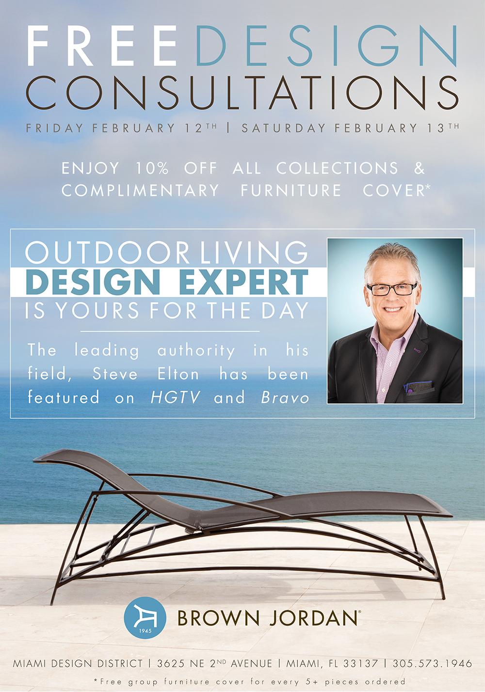 Brown Jordan Design Event (February)