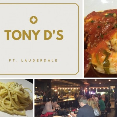 New Restaurant Review: Tony D's Fort Lauderdale