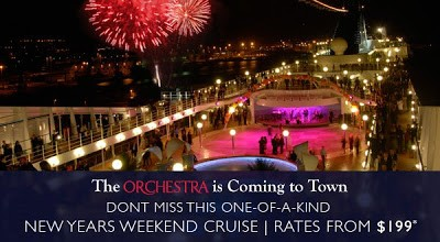 TRAVEL ~ MSC is offering a New Year's Weekend Cruise $199