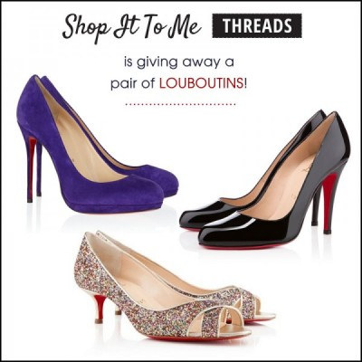 You could win Louboutins!!!