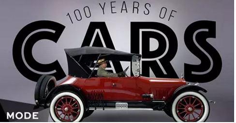 100 years cars