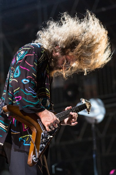 My Morning Jacket performs during the Bonnaroo music and arts festival 2015, Manchester, TN.