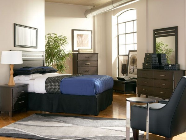 How to furnish a summer rental champagne living for College bedroom furniture sets