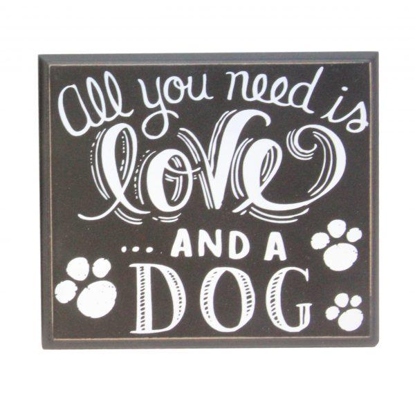 Dog Chalkboard Sign £4.00