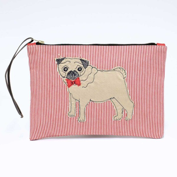 Pug Clutch Bag