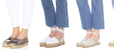 Flip-flops, sandals & espadrilles – summer shoes