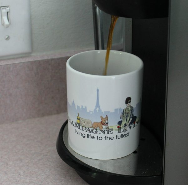 dripping coffee