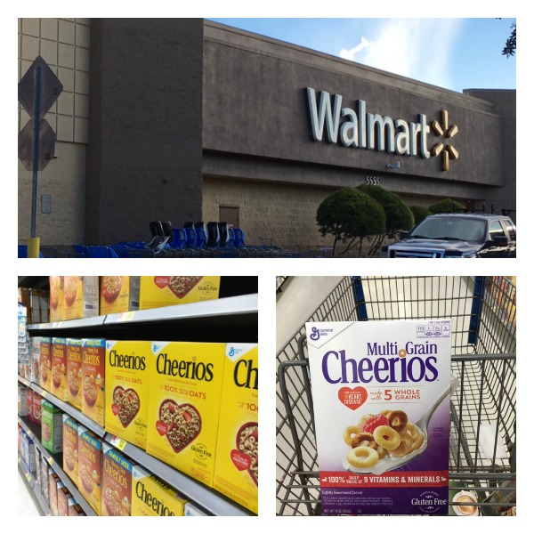walmart cheerios Collage