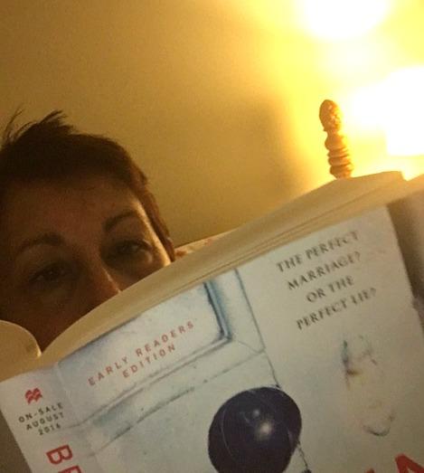 Up ALL night reading...dark circles, I don't care.