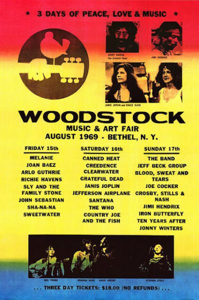 woodstock-line-up-music-poster