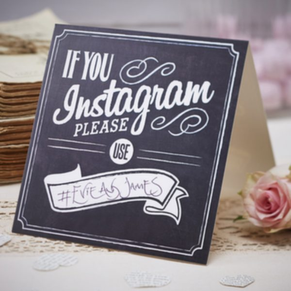chalkboard-style-wedding-sign-if-you-instagram-please-use-vintage-wedding
