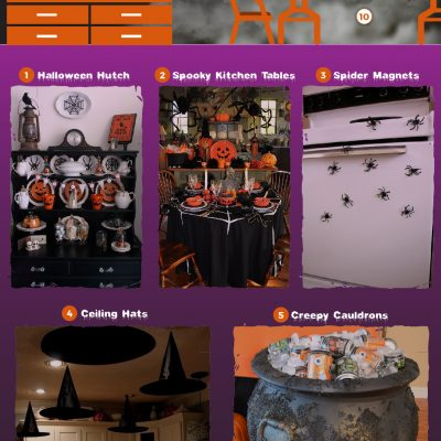 10 creepy Halloween Kitchen decorations
