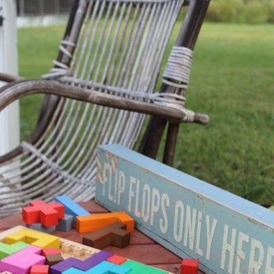 Ways to use Wooden Games as Décor