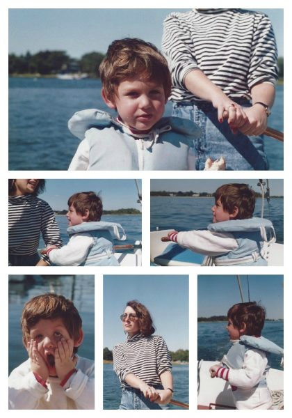 Ben learned to sail when he was just 4 or 5 years old