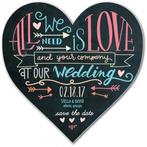 Photo courtesy of: Wedding Paper Divas