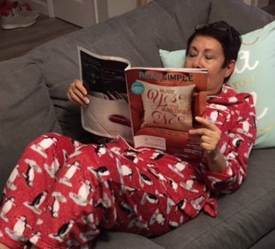 No apologies: New Year's Eve is for PJ's, champagne & relaxing