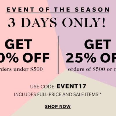 Not to be missed sale – Shopbop