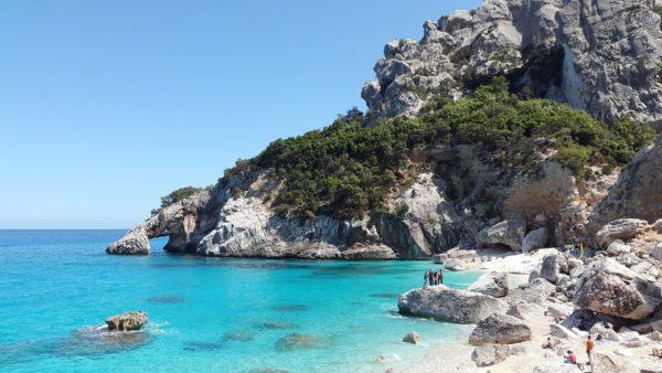 Cala Goloritzé beach in Sardinia