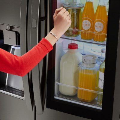Would an LG InstaView refrigerator be the perfect gift?