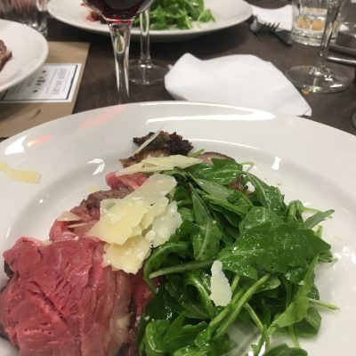 Mouthwatering steak recipe with Parmigiano Reggiano at Eataly