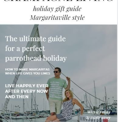 The Champagne Living Margaritaville Holiday Gift Guide