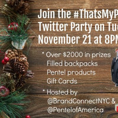 You are invited to party @ the #ThatsMyPoint TP Nov. 21 8pm ET