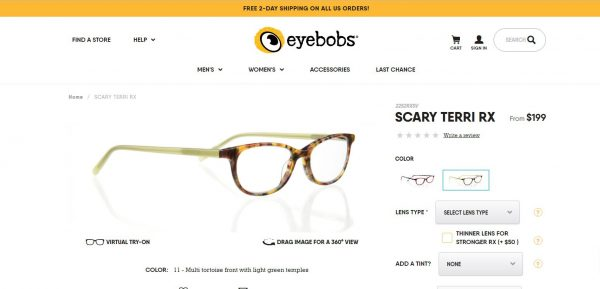 281beb102f That was UNTIL eyebobs began offering prescription lenses by mail order