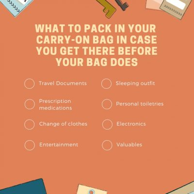 What to pack in your carry-on – printable