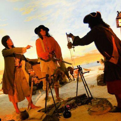 Arrrggghhh…5 Pirate Landmarks you can visit!