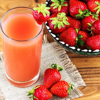 Health Benefits of Fresh Strawberry Juice
