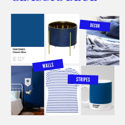 A classic Pantone color of the year
