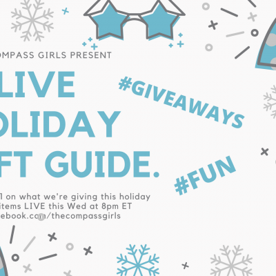 Join us for a LIVE Holiday Gift Guide Wed 12/4